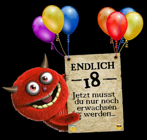 Freche Sprüche Zum 18 Geburtstag Einfach Kopieren