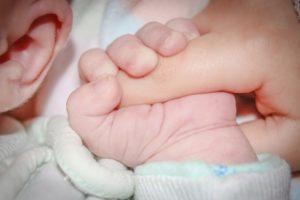 Familiensprüche - Baby Hände