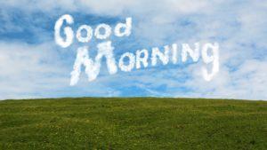 Lustige Guten Morgen Sprüche - Wolke