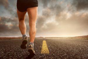Motivationssprüche - Mann läuft